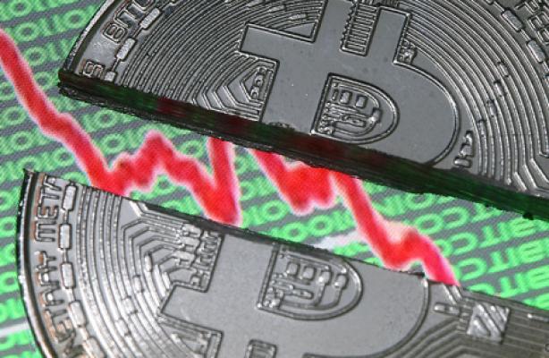 Курс биткоин (bitcoin) стремительно снизился за последние пару дней до 12 - 13 тыс. долларов
